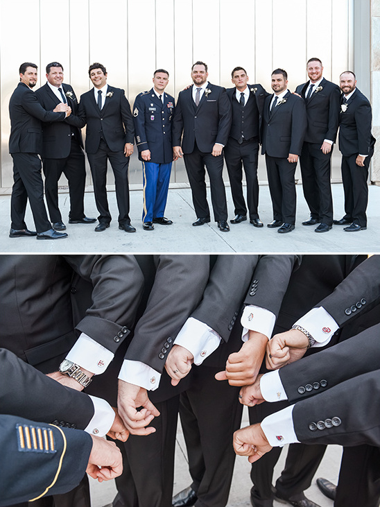 groomsmen sports cufflinks @weddingchicks