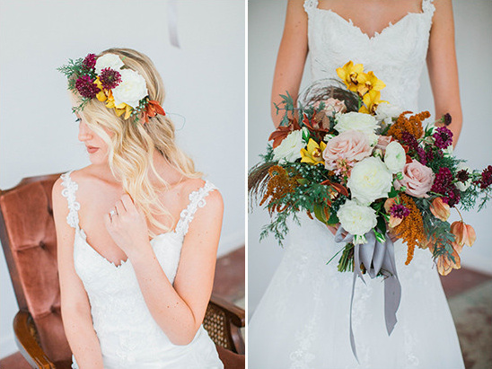 fall flowers @weddingchicks