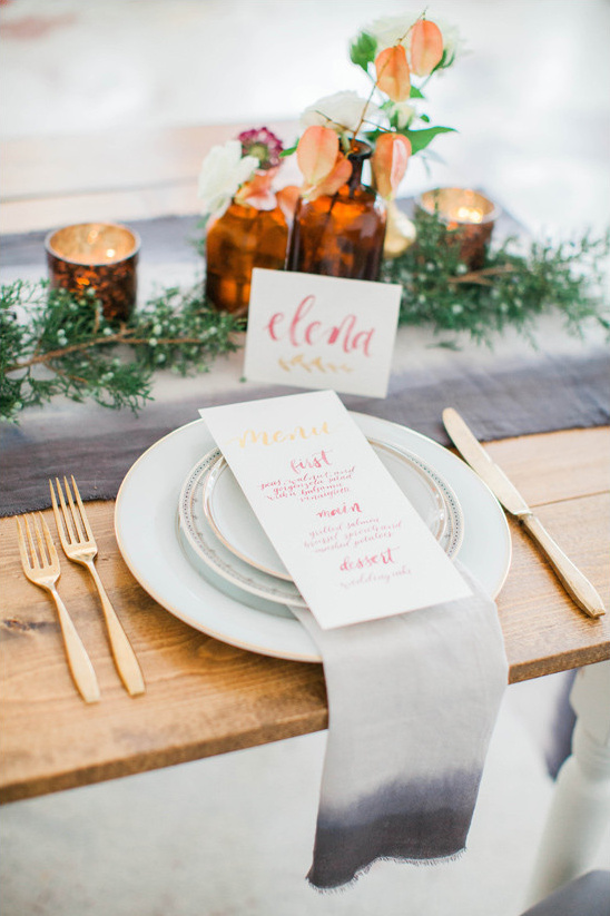place setting @weddingchicks