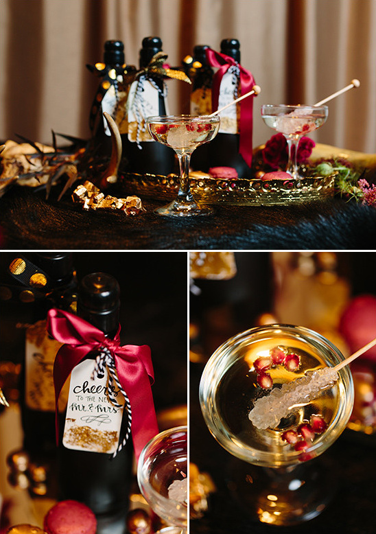 Black Red and Poe Wedding Ideas