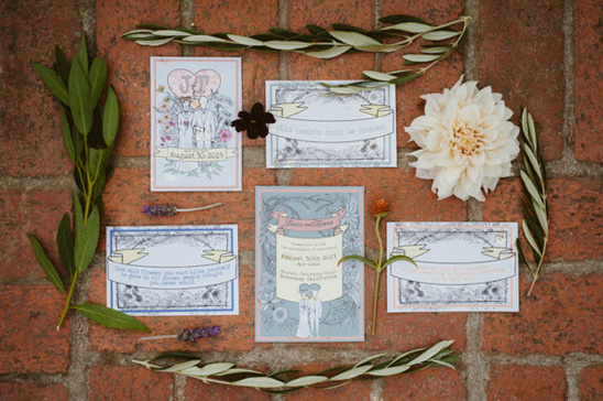 wedding invitation suite @weddingchicks