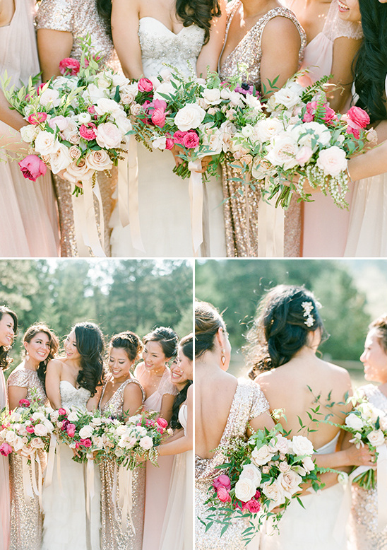bridesmaid bouquets @weddingchicks
