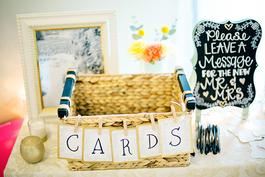 cards basket @weddingchicks
