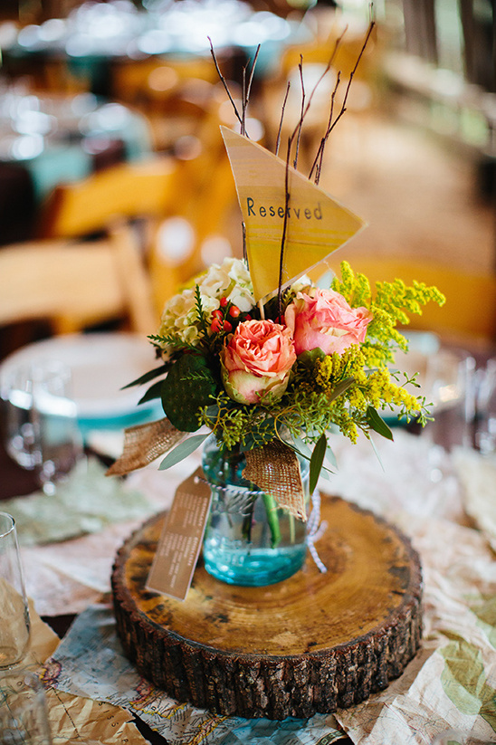 centerpiece arrangements @weddingchicks