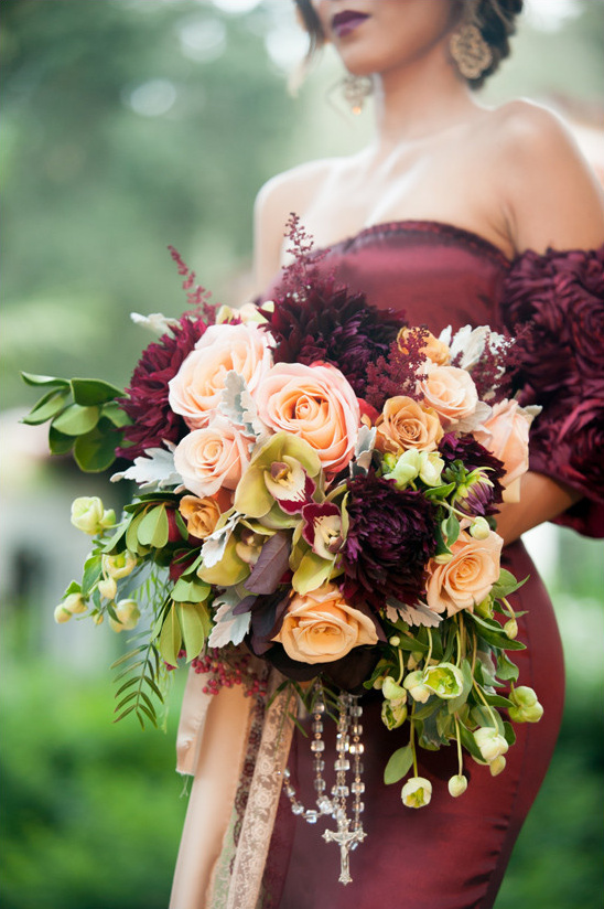 romantic bouquet @weddingchicks