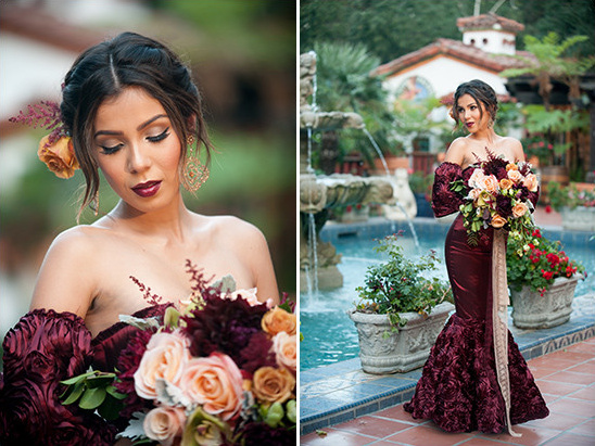 Wedding In Spanish.Red And Gold Spanish Wedding Ideas