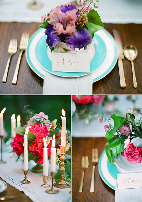 Alice In Wonderland Garden Elopement Ideas