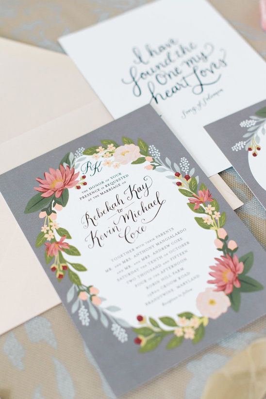 wedding invitation @weddingchicks