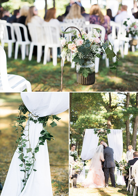 outdoor wedding decor @weddingchicks