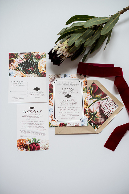 fall wedding invites @weddingchicks