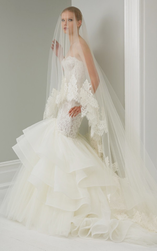 steven khalil wedding dress @weddingchicks