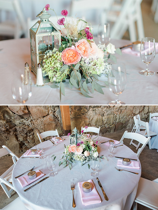 shabby chic table settings @weddingchicks