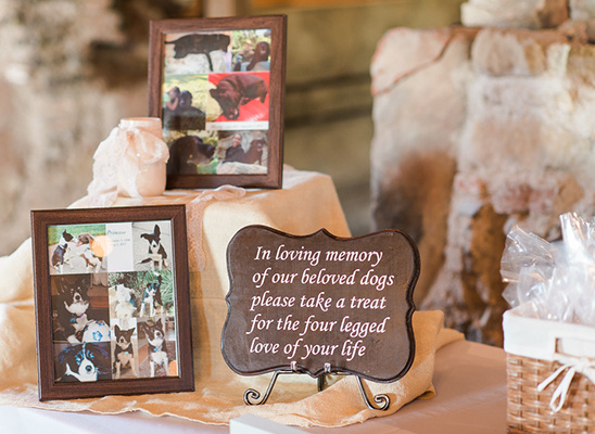 wedding dog table idea @weddingchicks