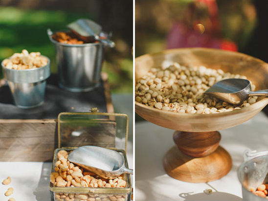 nut bar idea @weddingchicks
