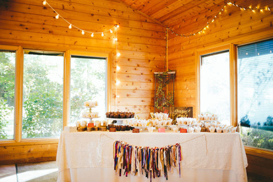 wedding dessert table @weddingchicks
