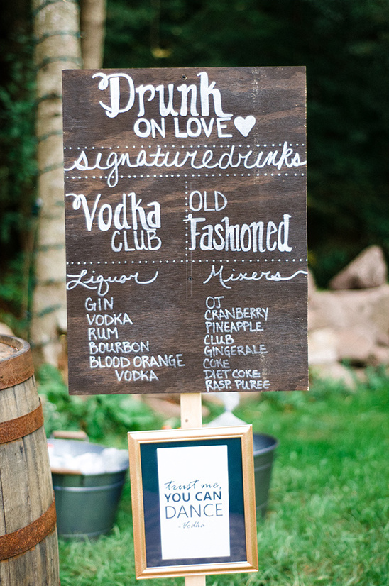 wedding bar sign @weddingchicks