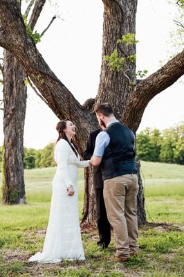 Bohemian Wedding in Oklahoma for 5K