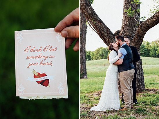 cute wedding card @weddingchicks