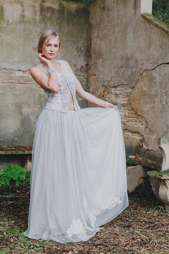 boho wedding dress @weddingchicks