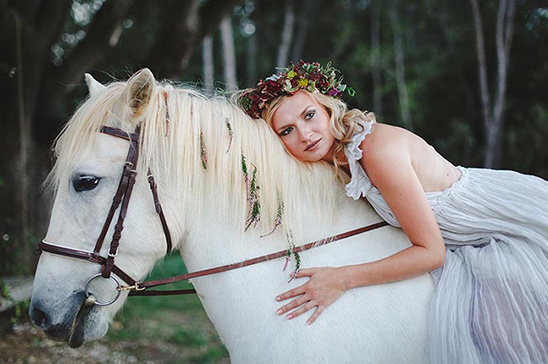 boho bridal look @weddingchicks