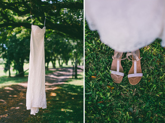 wedding dress and shoes @weddingchicks