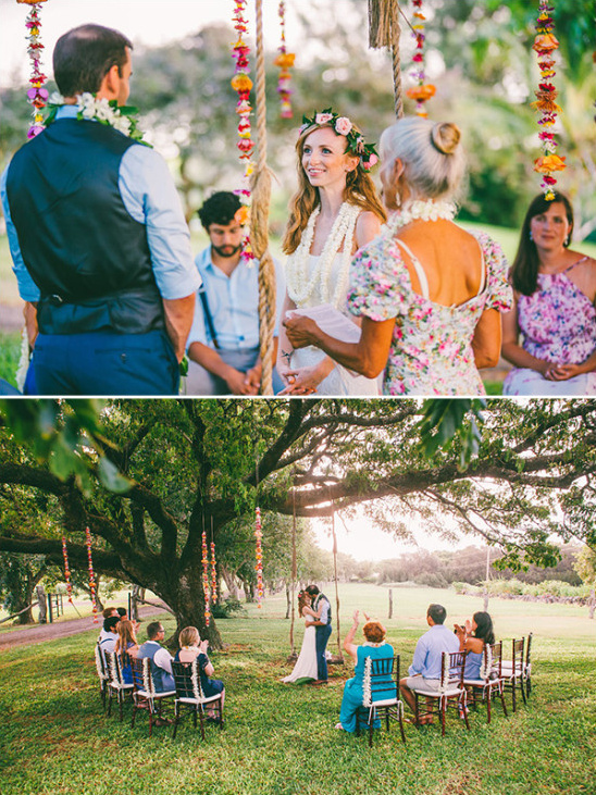 Hawaiian ceremony i dos @weddingchicks