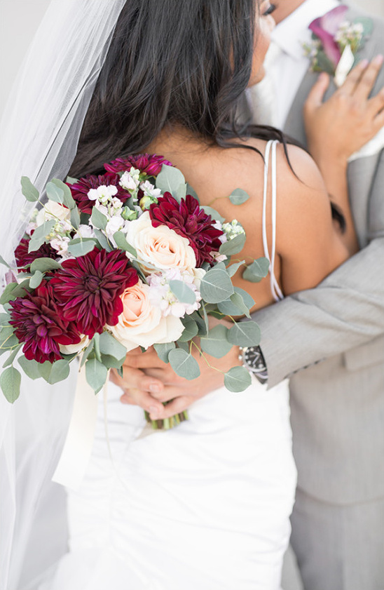 bouquet @weddingchicks