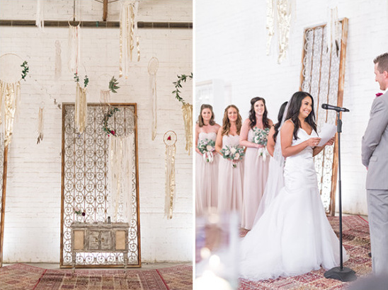boho wedding decor @weddingchicks