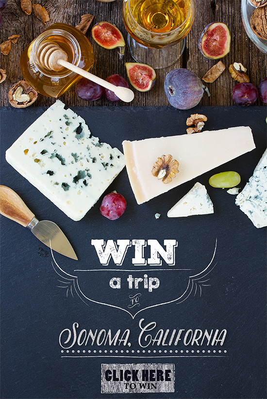 win a trip to Sonoma, California