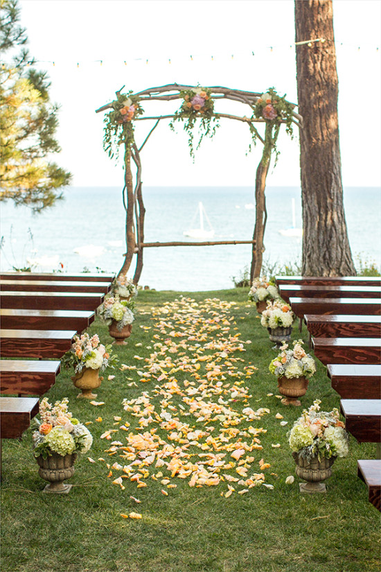ceremony decor @weddingchicks