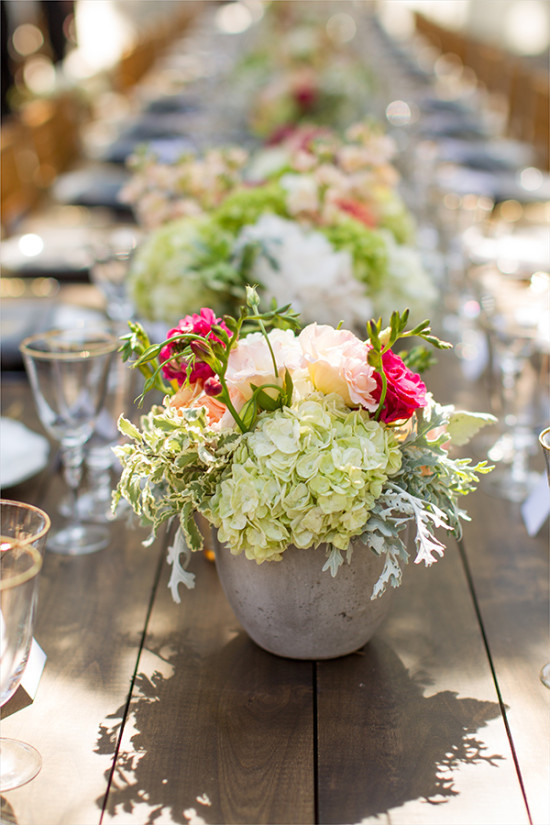 centerpieces @weddingchicks