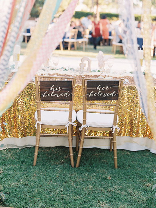 sweetheart chairs @weddingchicks