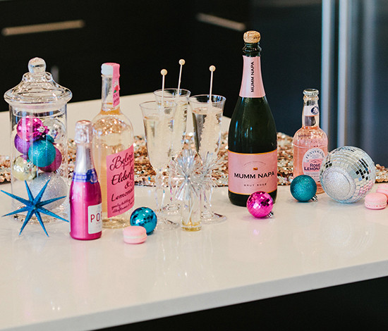 Sparkly Cocktails for New Year's Eve