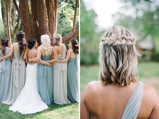 bridesmaids hair ideas @weddingchicks