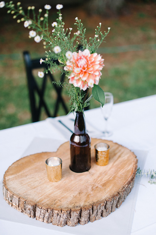 simple wedding centerpiece ideas @weddingchicks