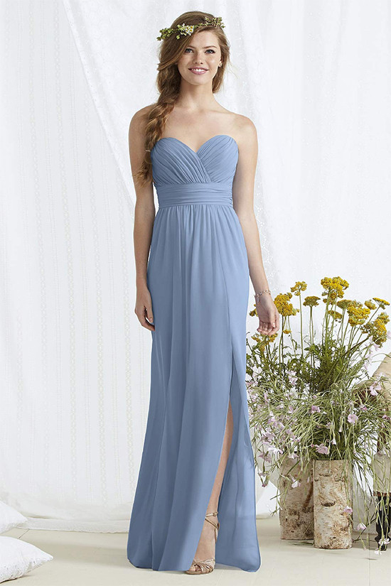 long bridemsiad dresses from shopjoielle.com @weddingchicks