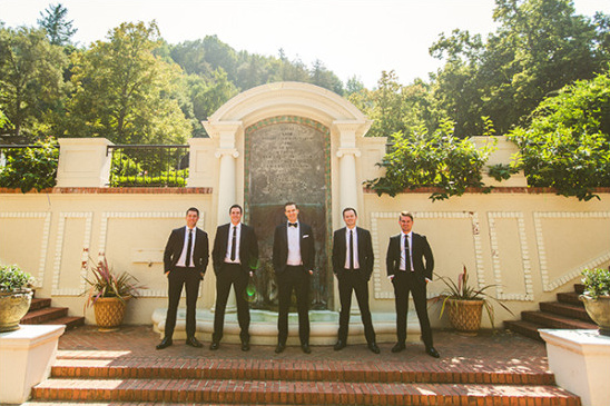 groosmen in tuxes @weddingchicks