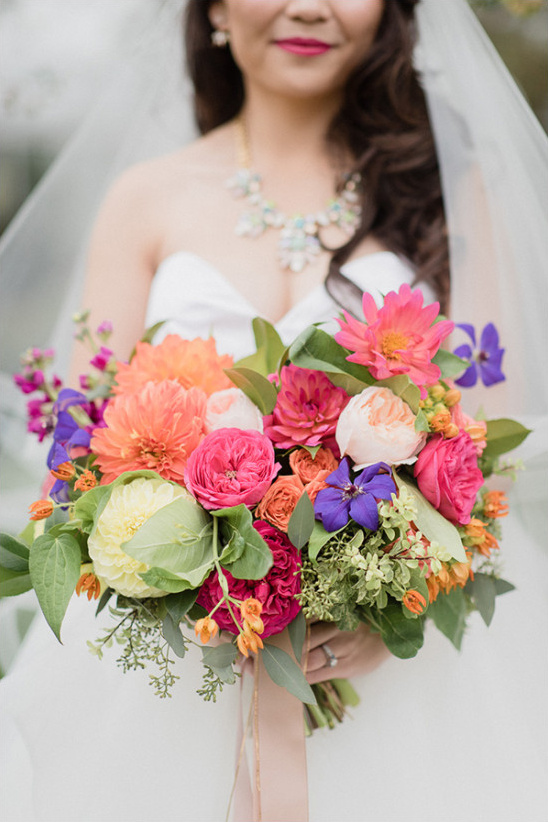 bright bouquet @weddingchicks