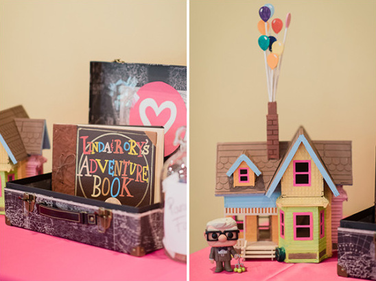 Up inspired guest book @weddingchicks