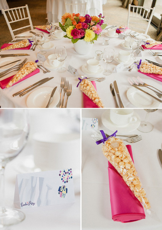 table decor wedding favors @weddingchicks