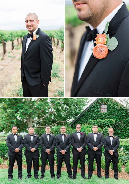 black tie groomsmen @weddingchicks