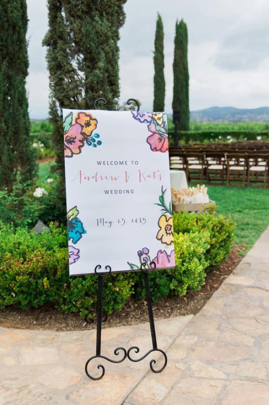 wedding sign @weddingchicks