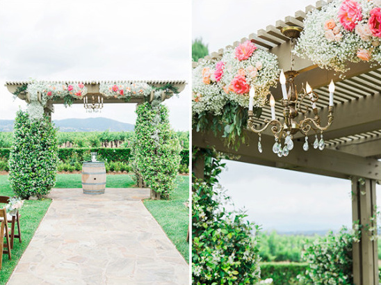 wedding arbor @weddingchicks