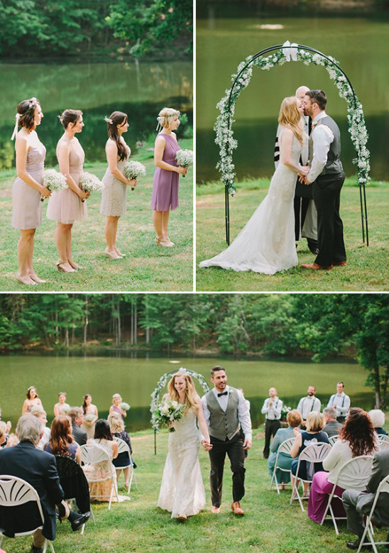 lakeside wedding @weddingchicks