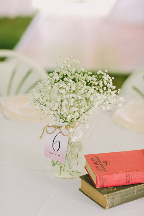 simple centerpiece ideas @weddingchicks