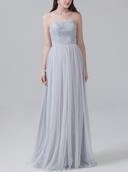 convertible lace tulle bridesmaid dress @weddingchicks