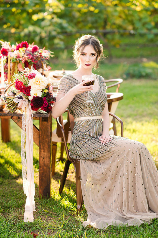 sunny vineyard wedding ideas @weddingchicks
