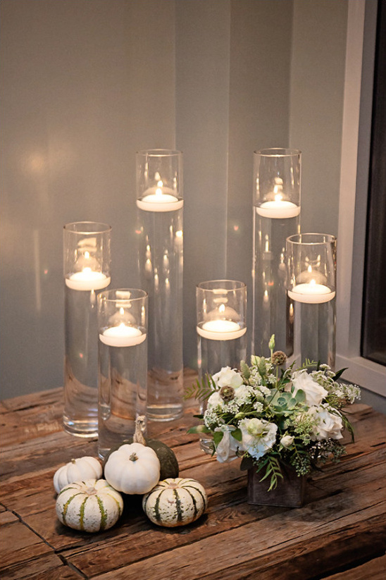 romantic reception decor @weddingchicks