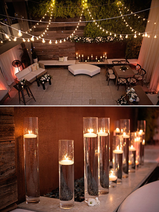 reception lighting ideas @weddingchicks