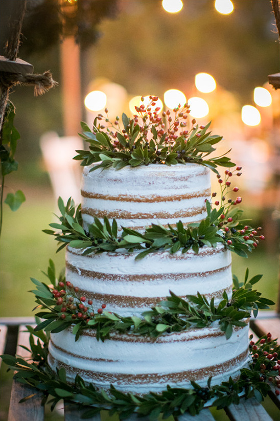 naked cake @weddingchicks